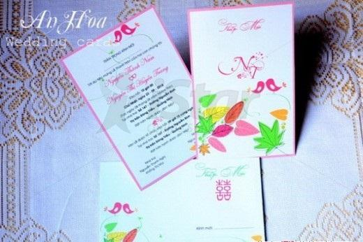4 xu hướng in ấn thiệp cưới năm 2013, in an, in thiệp cưới