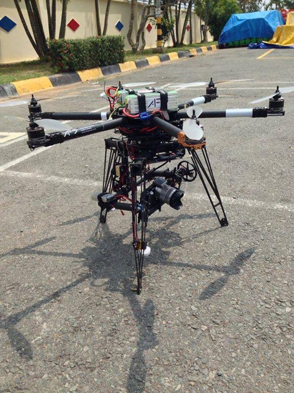 Chụp hình flycam cho dầu nhớt Motul do iStar thực hiện