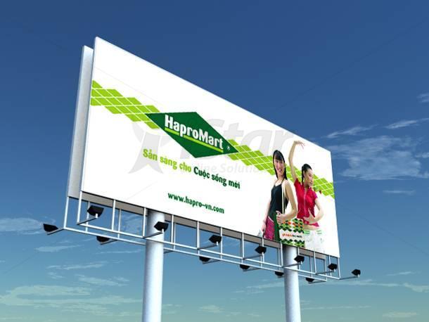 thiet ke va thi cong bien quang cao bang quang cao | biển quảng cáo | bảng quảng cáo