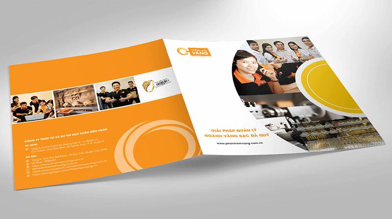 Địa chỉ website để bạn theo dõi các cách thiết kế profile công ty mới nhất 2019: brochure.vn