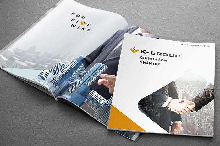 Một mẫu thiết kế profile đẹp là phải gây được ấn tượng ban đầu, làm cho khách hàng của bạn không thể nào quên