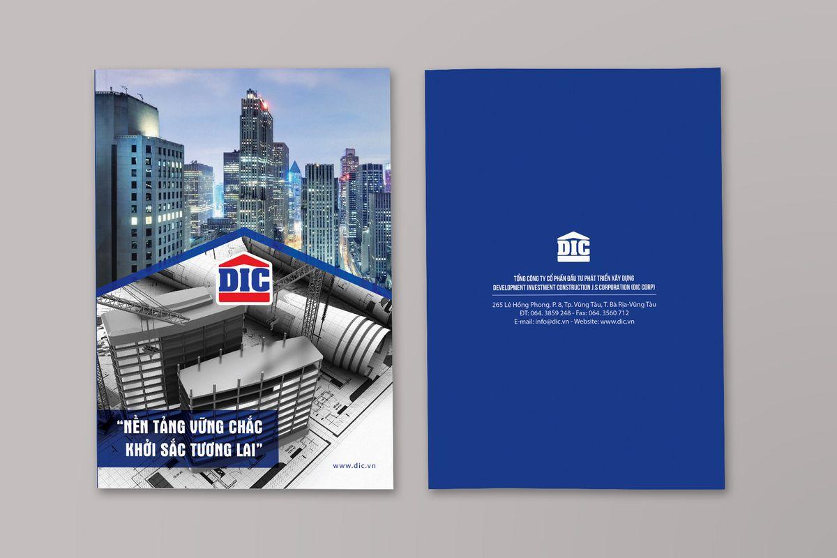 Thiết kế profile công ty xây dựng tại brochure.vn