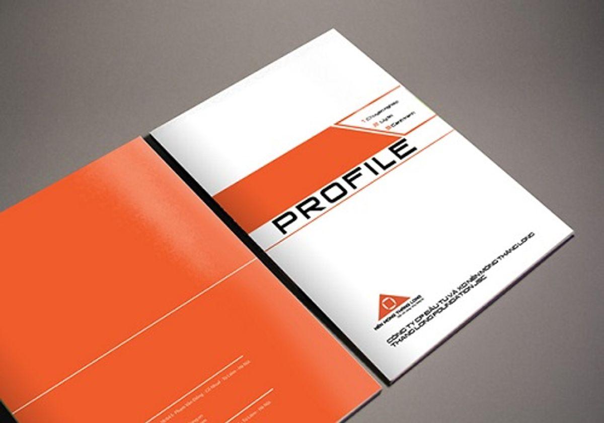 Thiết kế profile công ty chuyên nghiệp sẽ mang lại hiệu quả cao