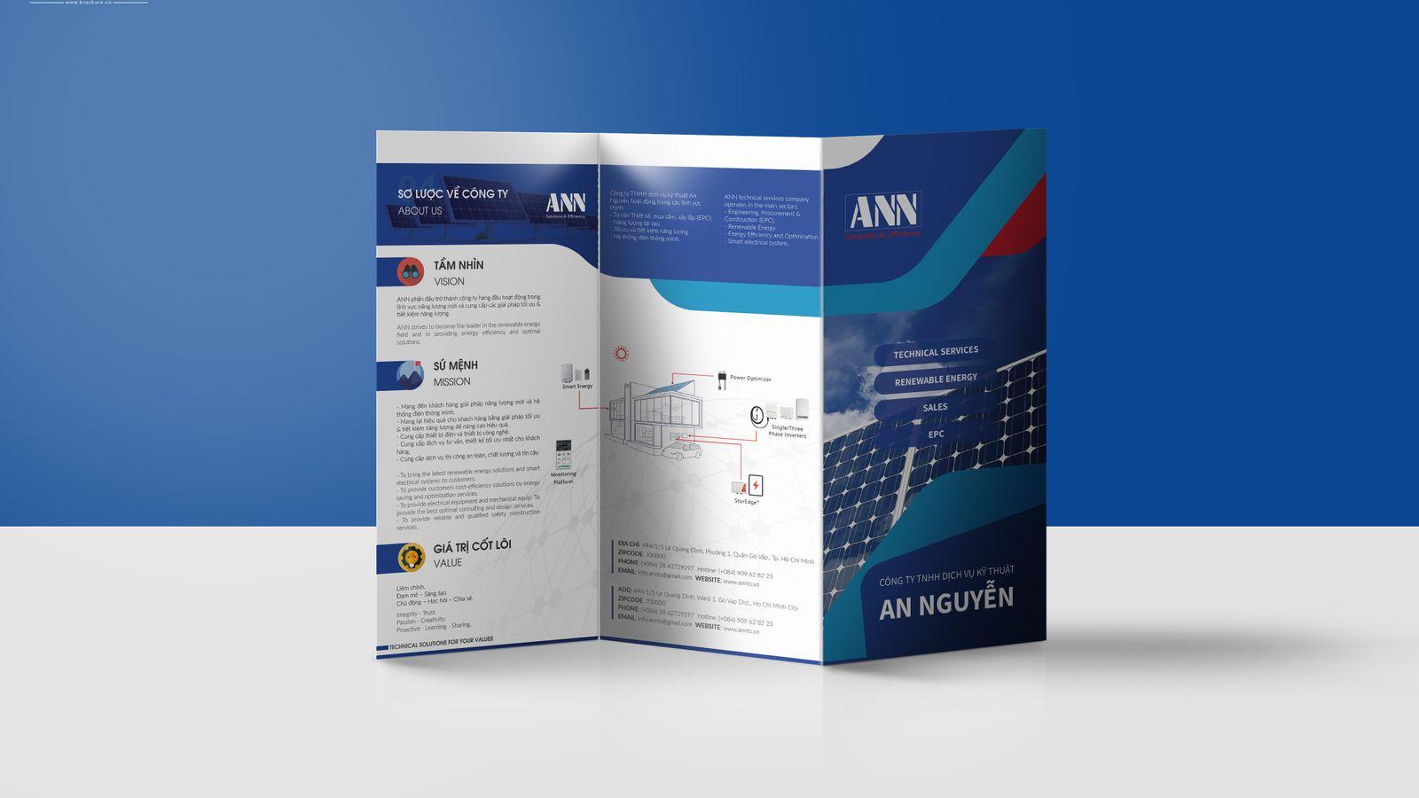 Brochure công ty An Nguyen Solar