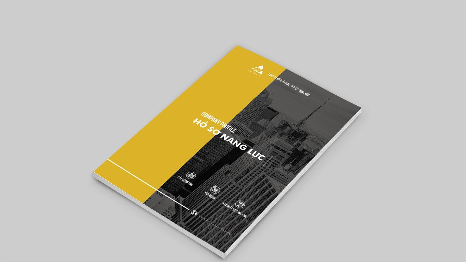 Thiết kế Profile công ty xây dựng Phúc Thịnh Đức