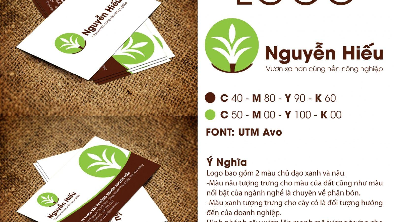 Thiết kế logo Nguyễn Hiếu