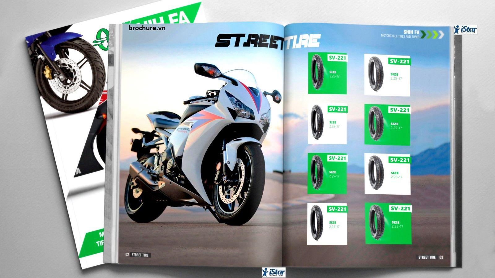 Thiết kế catalogue công ty Shih Fa (Việt Nam)
