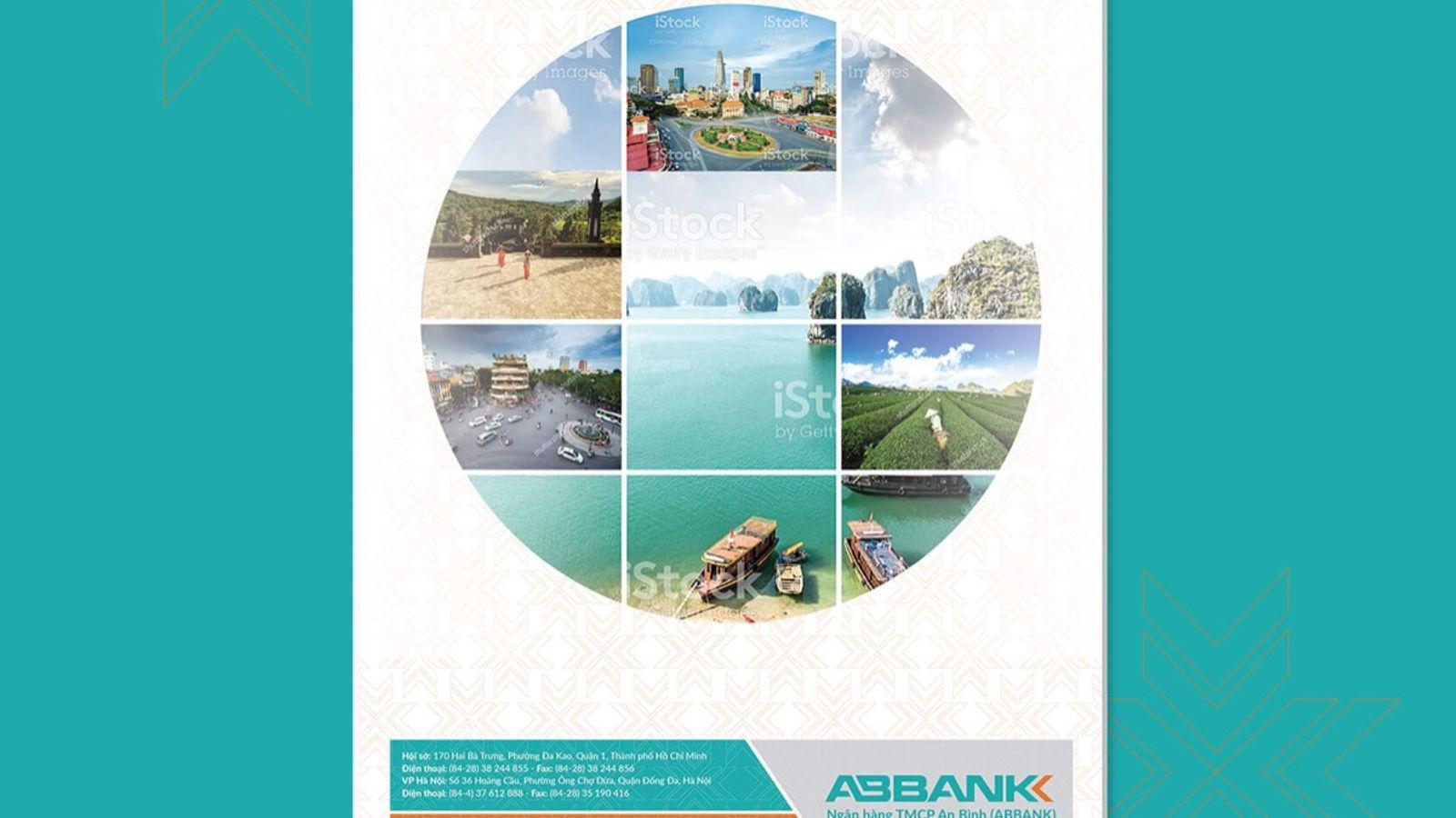 Thiết kế lịch ngân hàng AB Bank
