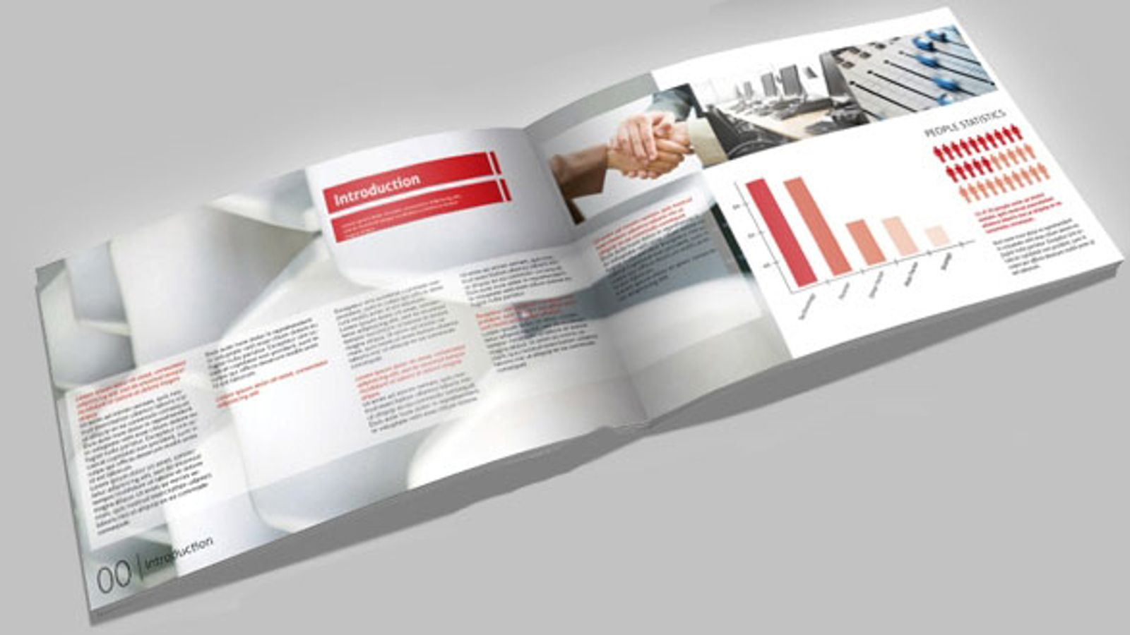 Brochure Business Report A4