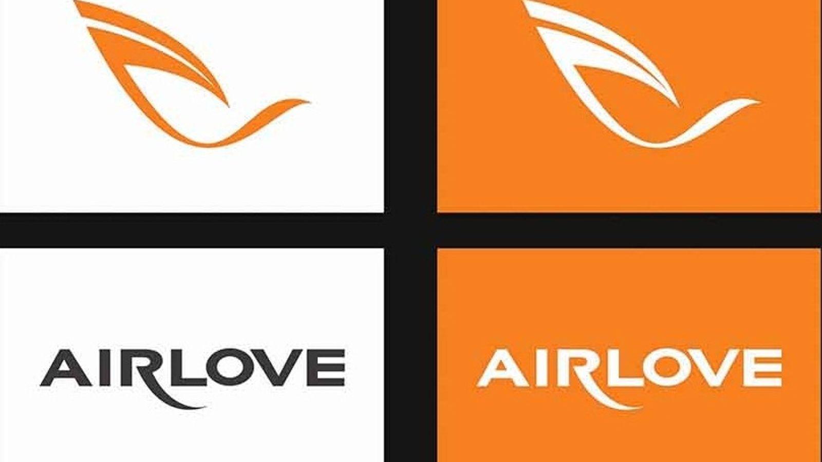 Thiết kế logo Airlove